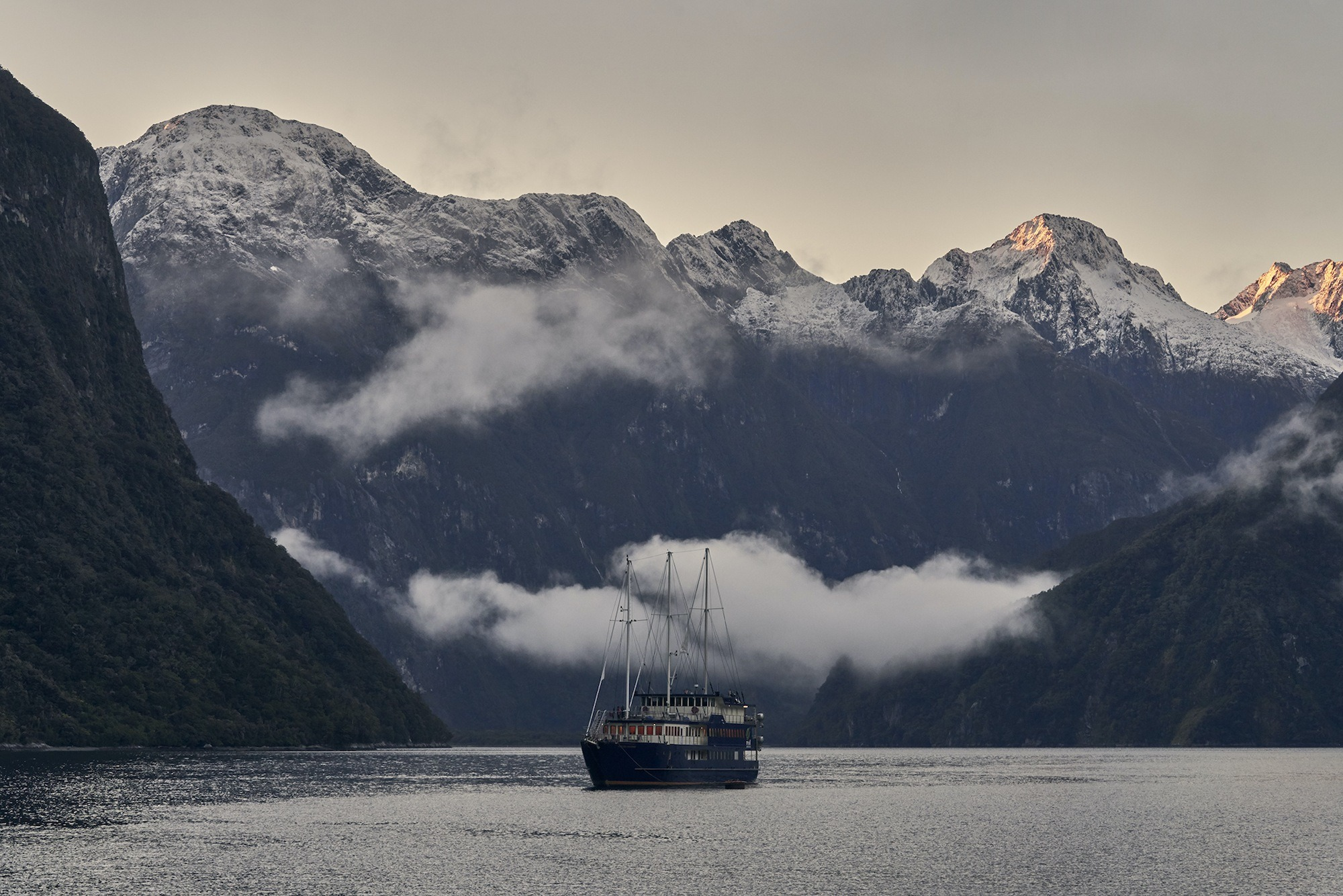 Sleeping in Milford Sound will change your life